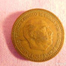 Monedas Franco: ESTADO ESPAÑOL, FRANCO, 1 PESETA, 1953. Lote 69723741