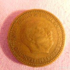 Monedas Franco: ESTADO ESPAÑOL, FRANCO, 1 PESETA, 1953. Lote 69723801