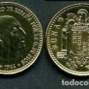 Monedas Franco: ESPAÑA 1 PESETA AÑO 1966 *1975 ( GENERAL DICTADOR FRANCISCO FRANCO - MONEDA DEL FRANQUISMO ) Nº6. Lote 168965508