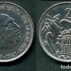 Monedas Franco: ESPAÑA 25 PESETAS AÑO 1957 *1971 ( GENERAL DICTADOR FRANCISCO FRANCO - MONEDA DEL FRANQUISMO ) Nº5. Lote 71696759
