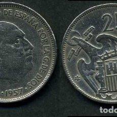 Monedas Franco: ESPAÑA 25 PESETAS AÑO 1957 *1964 ( GENERAL DICTADOR FRANCISCO FRANCO - MONEDA DEL FRANQUISMO ) Nº11. Lote 71978459