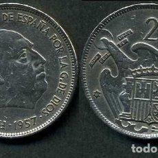 Monedas Franco: ESPAÑA 25 PESETAS AÑO 1957 *1961 ( GENERAL DICTADOR FRANCISCO FRANCO - MONEDA DEL FRANQUISMO ) Nº7. Lote 72013935