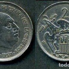 Monedas Franco: ESPAÑA 25 PESETAS AÑO 1957 *1958 ( GENERAL DICTADOR FRANCISCO FRANCO - MONEDA DEL FRANQUISMO ) Nº1. Lote 72085043