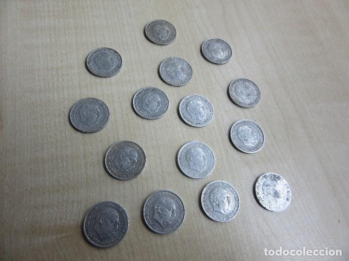 15 MONEDAS DE 10 CÉNTIMOS EMITIDAS EN 1959 (Numismática - España Modernas y Contemporáneas - Estado Español)