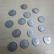 Monedas Franco: 15 MONEDAS DE 10 CÉNTIMOS EMITIDAS EN 1959. Lote 72383371