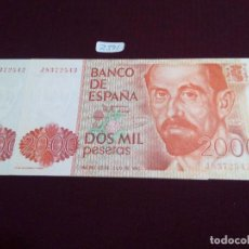 Monedas Franco: PAREJA CORRELATIVA 2000 PESETAS, 1980. Lote 73703767