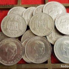 Monedas Franco: ESPAÑA SPAIN 5 PESETAS FRANCO ( DURO GRANDE / CABEZÓN ) 1949 *49 KM 778 MBC+ VF+. Lote 162670948