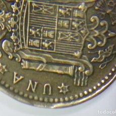 Monedas Franco: DOS DEFECTOS EN LA MISMA MONEDA 1 PESETA DE 1966 *68 . Lote 75829347