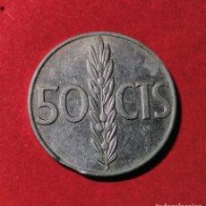 Monedas Franco: 50 CENTIMOS DE 1966. ESTRELLA 71. COSPEL SEGMENTADO. CIRCULADA.. Lote 77821445
