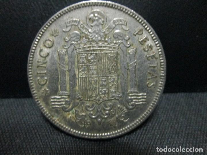5 PESETAS 1949 ESTRELLAS 19 49 (Numismática - España Modernas y Contemporáneas - Estado Español)
