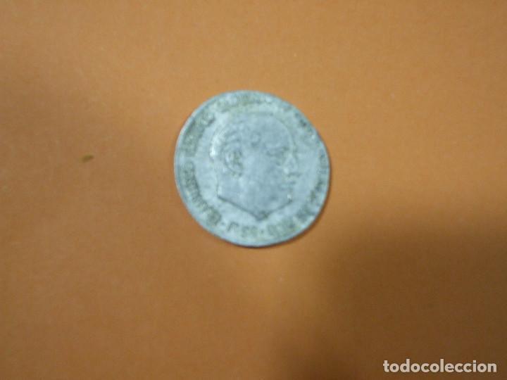 Monedas Franco: 2 Monedas de 10 centimos de peseta Franco año 1959 Error Acuñación y Undimiento - Moneda Fallo - Foto 4 - 80451113