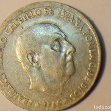 Monedas Franco: MUY DESPLAZADA, MONEDA DE 50 CÉNTIMOS DE 1966. Lote 80673454