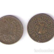 Monedas Franco: DOS MONEDAS 1 PESETA 1944 FRANCO. Lote 82475972