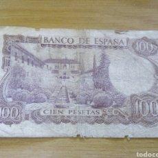 Monedas Franco: BILLETE DE 100 PTS MANUEL DE FALLA. Lote 82517180