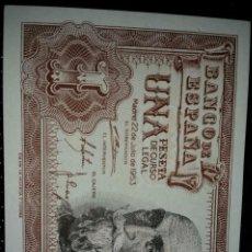 Monedas Franco: BILLETES CORRELATIVOS 1 PESETA SC. Lote 84272712