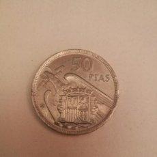 Monedas Franco: MONEDA DE 50 PTS DE FRANCO.AÑO 1957 ESTRELLA 68 PRUEBA. Lote 84378400