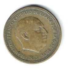 Monedas Franco: ESTADO ESPAÑOL 2,5 PESETAS 1953-54 2 1/2 PESETAS ESTRELLAS 19-54 FRANCO. Lote 84755120