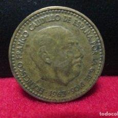 Monedas Franco: 1 PESETA 1963 ESTRELLAS 19 64. Lote 86945492