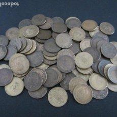 Monedas Franco: 100 PIEZAS DE 1 PESETA FRANCO DE 1947,1953,1963 Y 1966 CON VARIEDAD DE ESTRELLAS. Lote 88141680