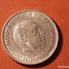Monedas Franco: MONEDA DE FRANCO DE 5 PESETAS AÑO 1949 ESTRELLA 50. Lote 90376856