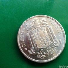 Monedas Franco: MONEDA DE 5 PESETAS DE FRANCO DE 1949. ESTRELLA 50. Lote 91651214