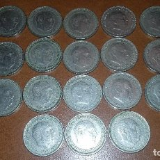 Monedas Franco: LOTE DE MONEDAS 5 PESETAS 1957.COLECCION COMPLETA *58 59 60 61 62 63 64 65 66 67 68 69 70 71 72 73... Lote 91898920