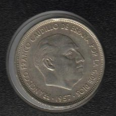 Monedas Franco: 50 PESETAS 1957 (*71) ESTADO ESPAÑOL SC- MUY ESCASA. Lote 92848600