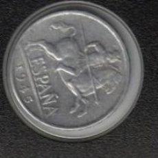 Monedas Franco: 10 CENTIMOS 1945 - ESTADO ESPAÑOL SC ESCASA . Lote 93228130
