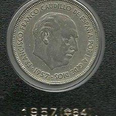 Monedas Franco: 25 PESETAS 1957 (*64) - ESTADO ESPAÑOL (FRANCO) EBC++. Lote 93228650