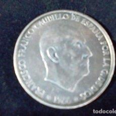 Monedas Franco: MONEDA DE 100 PESETAS PLATA 1966 ESTRELLAS VISIBLE. Lote 94215220