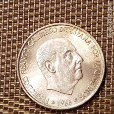 Monedas Franco: MONEDA PLATA FRANCO, 100 PESETAS 1966*19-69 - PALO RECTO - SIN CIRCULAR - AUTÉNTICA. Lote 94476978