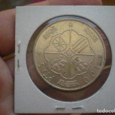Monedas Franco: MONEDA DE 100 PESETAS 1966 DEL ESTADO ESPAÑOL(EN PLATA) OJOO ESTRELLAS *7-*0 (VISIBLES) RARA!. Lote 95818287