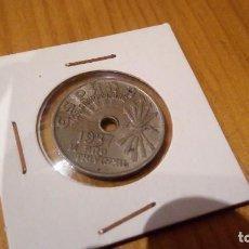 Monedas Franco: MONEDA 25 CENTIMOS 1937. Lote 95884535