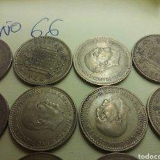 Monedas Franco: LOTE MONEDAS 1 PESETA 1966. Lote 96783886