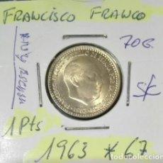 Monedas Franco: MONEDA DE 1 PTAS DE FRANCISCO FRANCO SIN CIRCULAR. Lote 97242895