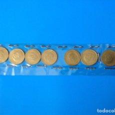 Monedas Franco: ESTADO ESPAÑOL COLECCION 9 MONEDAS DE 1 PESETA 1966 *67-68-69-70-71-72-73-74-75. Lote 112188288