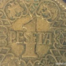 Monedas Franco: MONEDA UNA PESETA FRANCO 1944 LA DEL UNO, BUEN ESTADO CONSERVADA EN FUNDA. Lote 97666539