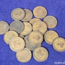 Monedas Franco: LOTE 20 MONEDAS DE UNA PESETA DE 1953 BUEN ESTADO GENERAL VARIAS ESTRELLAS VISIBLES VARIADAS 67 GRS.. Lote 97668631