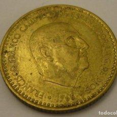 Monedas Franco: MONEDA 1 PESETA 1966 74* FRANCO CIRCULADA. Lote 97784663