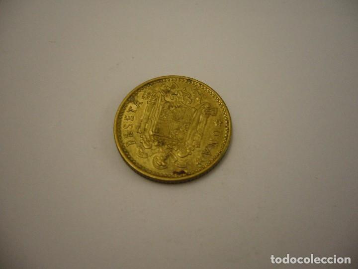 Monedas Franco: MONEDA 1 PESETA 1966 74* FRANCO CIRCULADA - Foto 2 - 97784663