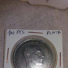 Monedas Franco: MONEDA DE 100 PTS FRANCO 1966 *66 PLATA. Lote 98019454