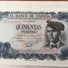 Monedas Franco: 5 BILLETES DE 500 PESETAS. Lote 98122715