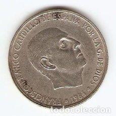Monedas Franco: C07 - FRANCO 100 PESETAS DE PLATA EMISION 1966 ESTRELLA 67. Lote 98186903