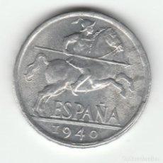 Monedas Franco: 10 CENTIMOS-1940-SC. Lote 99161655