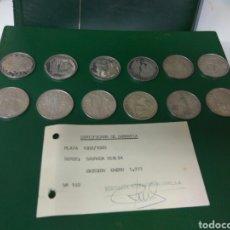 Monedas Franco: MONEDAS PLATA SERIE SAGRADA BIBLIA 12 UNI.ESTUCHE,CERTIFICADO GARANTIA .VER DESCRIPCION Y FOTOS. Lote 99741380