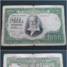 Monedas Franco: BILLETE 1000 PTAS, 1951- JOAQUÍN SOROLLA. Lote 100490960