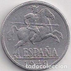 Monedas Franco: ESPAÑA - ESTADO ESPAÑOL - 10 CÉNTIMOS 1940. Lote 101103099