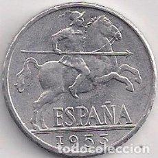 Monete Franco: ESPAÑA - ESTADO ESPAÑOL - 10 CÉNTIMOS 1952. Lote 101103399