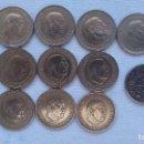 Monedas Franco: LOTE 13 MONEDAS 1 PESETA FRANCO 1966 Y UNA 1944. Lote 101180287