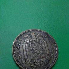 Monedas Franco: MONEDA ESPAÑA FRANCO 1 PESETA AÑO 1963*63. Lote 101181704